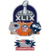 SUPER BOWL 49 CHAMPION DANGLE PIN NEW ENGLAND PATRIOTS PIN