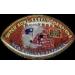 NEW ENGLAND PATRIOTS SB 38 CHAMPS FOOTBALL PIN