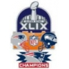 SUPER BOWL 49 CHAMPION PIN NEW ENGLAND PATRIOTS PIN