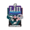 PHILADELPHIA EAGLES SUPER BOWL 52 CHAMPION PIN