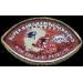 NEW ENGLAND PATRIOTS SB 39 CHAMPION FOOTBALL PIN