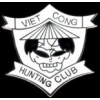 VIETNAM VIET CONG HUNTING CLUB PIN DX