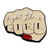 FIGHT LIKE A GIRL FIST HAT, LAPEL, PIN