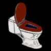 TOILET BOWL PIN