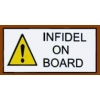 INFIDEL ON BOARD PIN DX