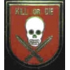 KILL OR DIE SKULL PIN