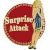 SURPRISE ATTACK NOSE ART DX PIN
