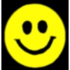 SMILELY FACE YELLOW PIN