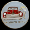 WORK N GIRL NOSE ART PIN DX