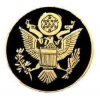 GREAT SEAL OF THE USA BLACK GOLD VERSION PIN