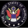 GREAT SEAL OF THE USA BLACK VERSION PIN