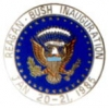 RONALD REAGAN GEORGE BUSH 1985 PRESIDENTIAL INAUGURATION PIN