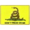 GADSEN GADSDEN FLAG DON'T TREAD ON ME PIN DX