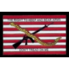 RIGHT TO KEEP AND BEAR ARMS PIN DON'T TREAD ON ME FLAG PINS