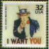 I WANT YOU UNCLE SAM PIN WORLD WAR ONE ERA POSTER STAMP PIN DX