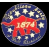 REPUBLICAN PARTY ELEPHANT LOGO PIN