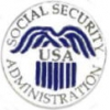 SOCIAL SECURITY ADMINISTRATION LOGO PIN