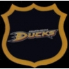 ANAHEIM DUCKS HOCKEY SHIELD PIN