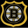 BOSTON BRUINS HOCKEY SHIELD PIN