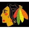 CHICAGO BLACKHAWKS LOGO NHL PIN