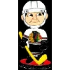 CHICAGO BLACKHAWKS BOBBLEHEAD PIN