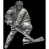 HOCKEY PLAYER CAST PIN DX