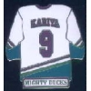 ANAHEIM MIGHTY DUCKS PAUL KARIYA JERSEY PIN