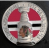CHICAGO BLACKHAWKS PIN 5 TIME STANLEY CUP PIN