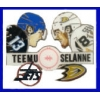 TEEMU SELANNE WINNIPEG JETS PIN ANAHEIM DUCKS PIN NHL PIN