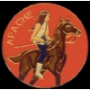 APACHE PIN INDIAN NATIVE AMERICAN TRIBES PIN