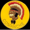 COMANCHE PIN INDIAN NATIVE AMERICAN TRIBES PIN