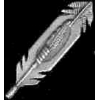 INDIAN FEATHERS CAST PIN