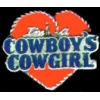 I AM A COWBOYS COWGIRL CAST PIN