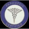 PARAMEDIC PIN CERTIFIED PARAMEDIC PIN