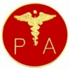 PHYSICIANS ASSISTANT LOGO PIN