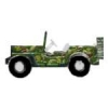 JEEP CAMOUFLAGE WW2 STYLE WILLYS GM PIN