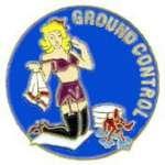 GROUND CONTROL NOSE ART PIN