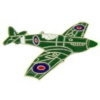 BRITISH HAWKER HURRICANE AIRPLANE PIN
