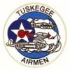 US ARMY AIRCORPS TUSKEGEE AIRMEN LOGO PIN