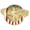 HONORABLE SERVICE NATIONAL DEFENSE RUPTURED DUCK PIN