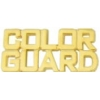 COLOR GUARD PIN CUTOUT SCRIPT COLOR GUARD PIN