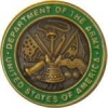 US ARMY DEPARTMENT OF THE ARMY INSIGNIA PIN