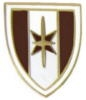 US ARMY 44TH MEDICAL BRIGADE LOGO PIN