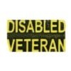 DISABLED VETERAN PIN SCRIPT GOLD TONE VET PIN