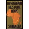 OPERATION RESTORE HOPE PIN SOMALIA PIN