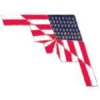B-2 SPIRIT STEALTH BOMBER USA FLAG PIN