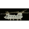 CH-47 PIN CHINOOK PIN HELICOPTER PIN GRAY