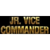 JR VICE COMMANDER PIN