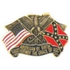 AMERICAN BY BIRTH SOUTHERN BY THE GRACE OF GOD PIN CSA PIN DX