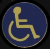 HANDICAPPED LOGO PIN